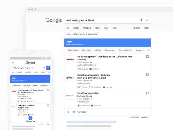 Google moteur recherche